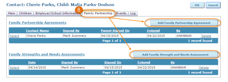 family partnership tab